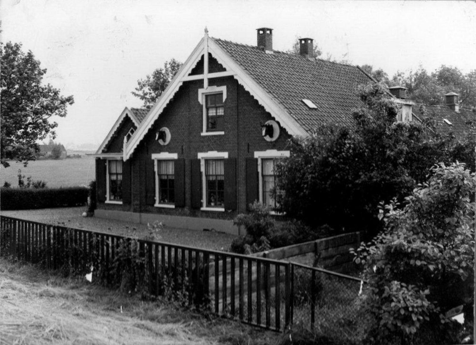 Aalsmeer Onbekend Boerderij met Koeienkoppen