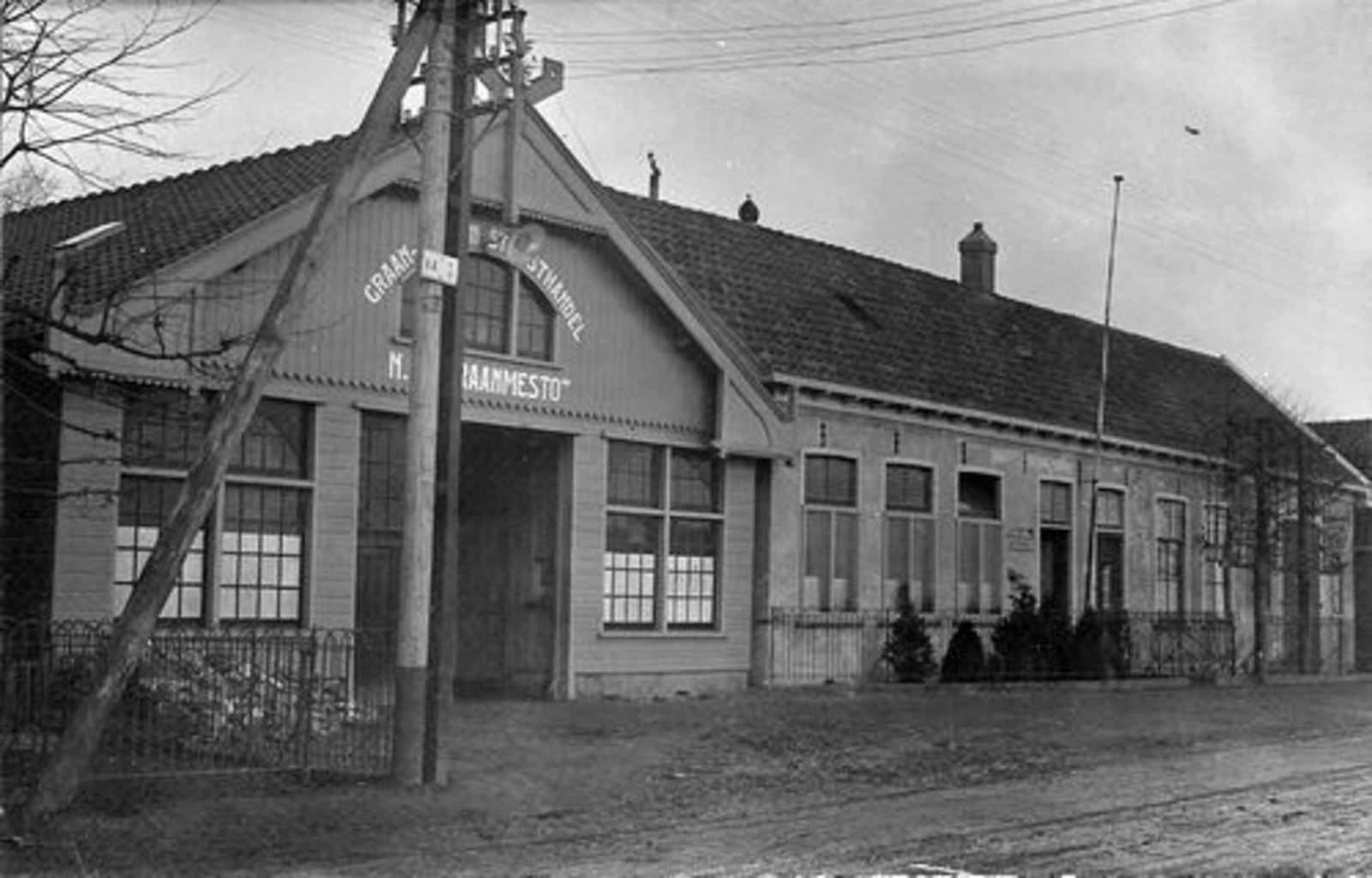 Aalsmeerderdijk 0361 1930± Graanhandel Graanmesto