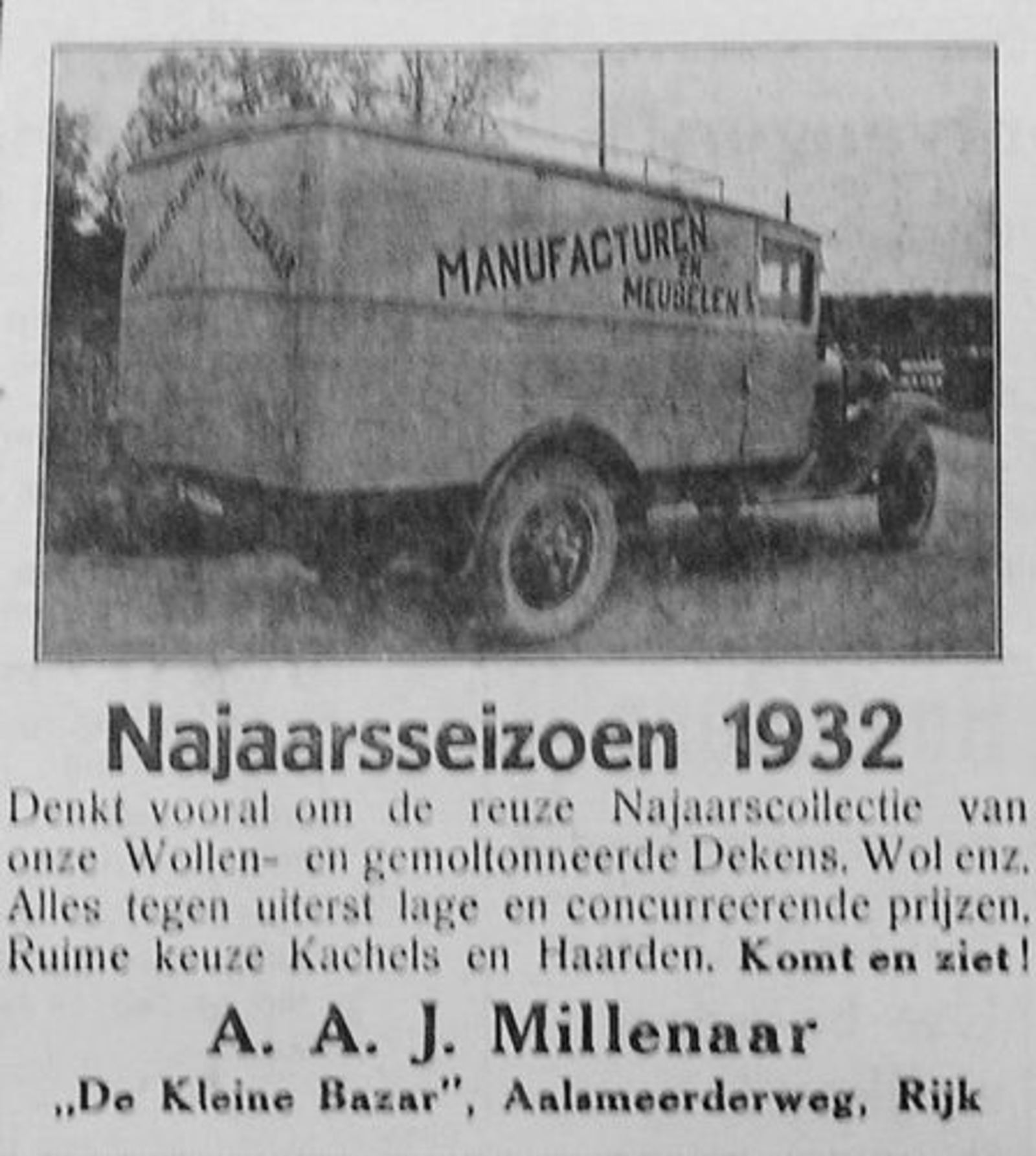 Aalsmeerderweg W 0511 Millenaar Manufacturen en Meubelen