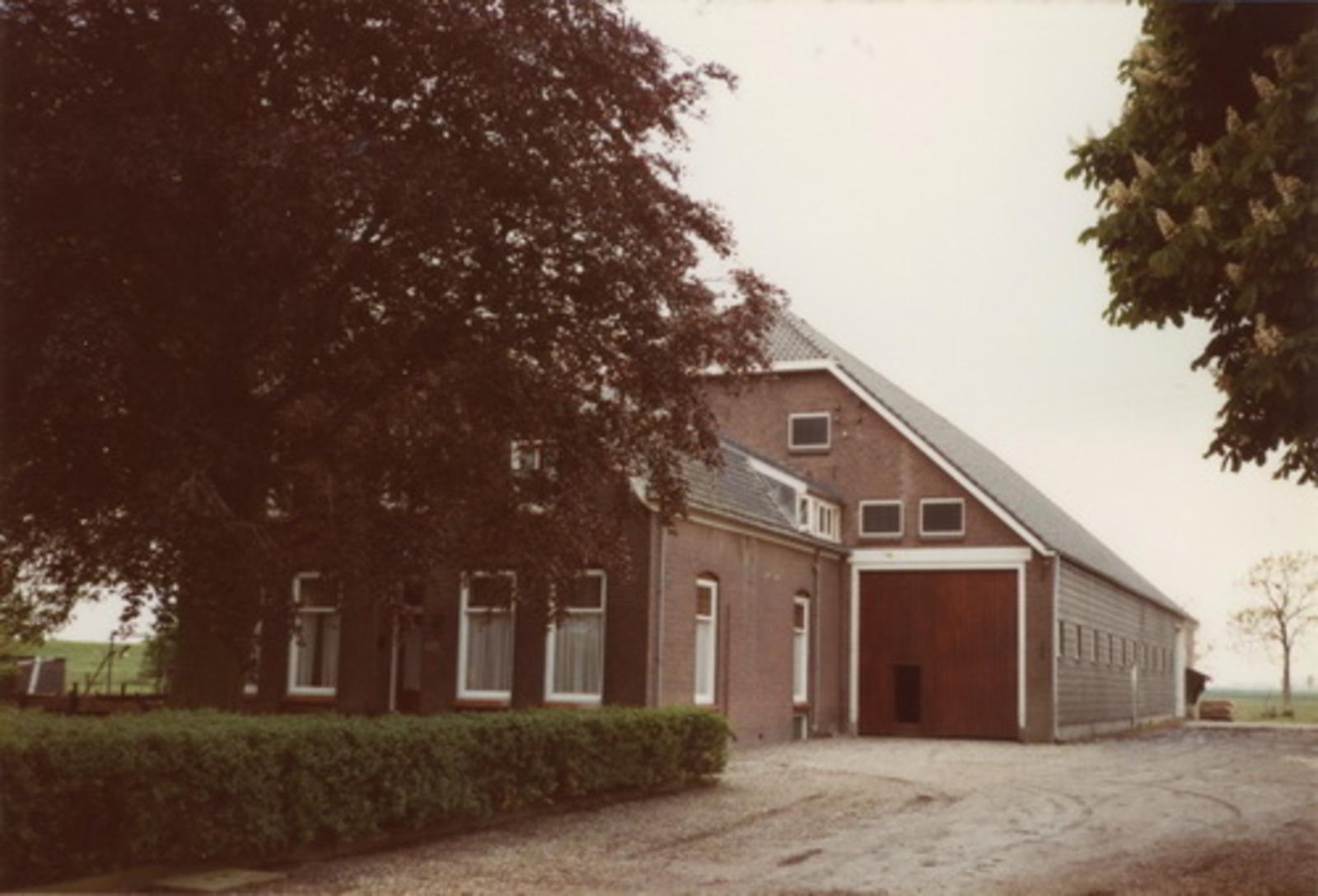 Aalsmeerderweg W 0617 1983 boerderij Bouwlust