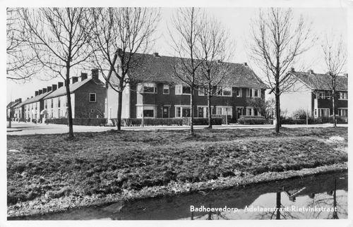Adelaarstraat Rietvinkstraat 1951