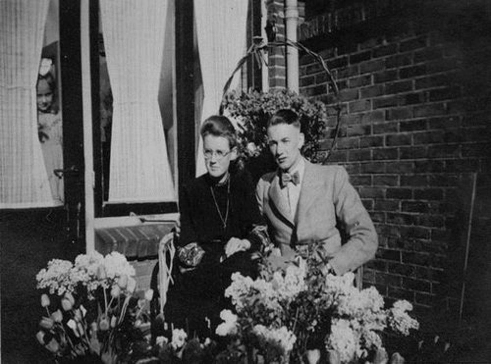 Bax Jo 1942 verloving met Nel Boon 02 Onbekend