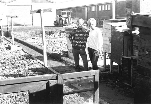Beetslaan N 0101 1969 achter Erf fam Huismans 01