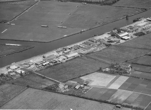 Bennebroekerdijk 0215+ 1954+ Luchtfoto