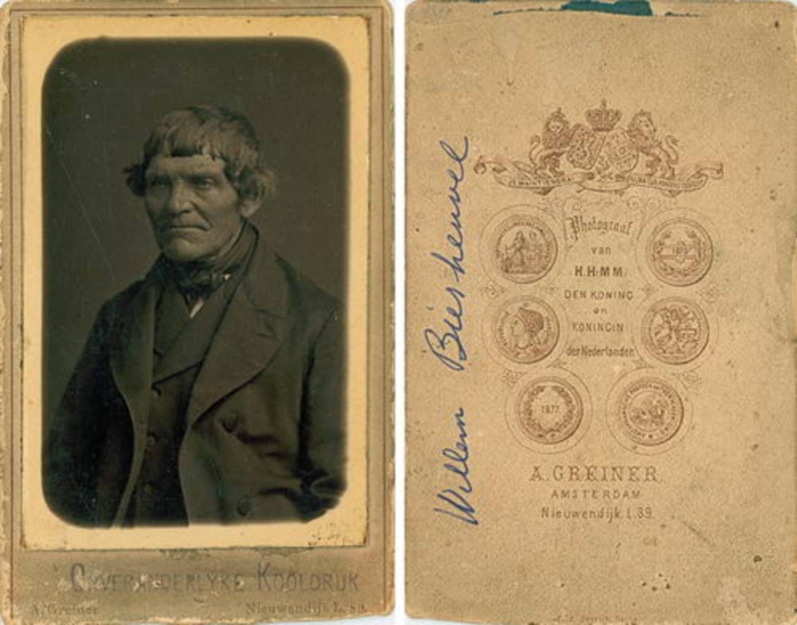 Biesheuvel Willem 1806 19__ Portret