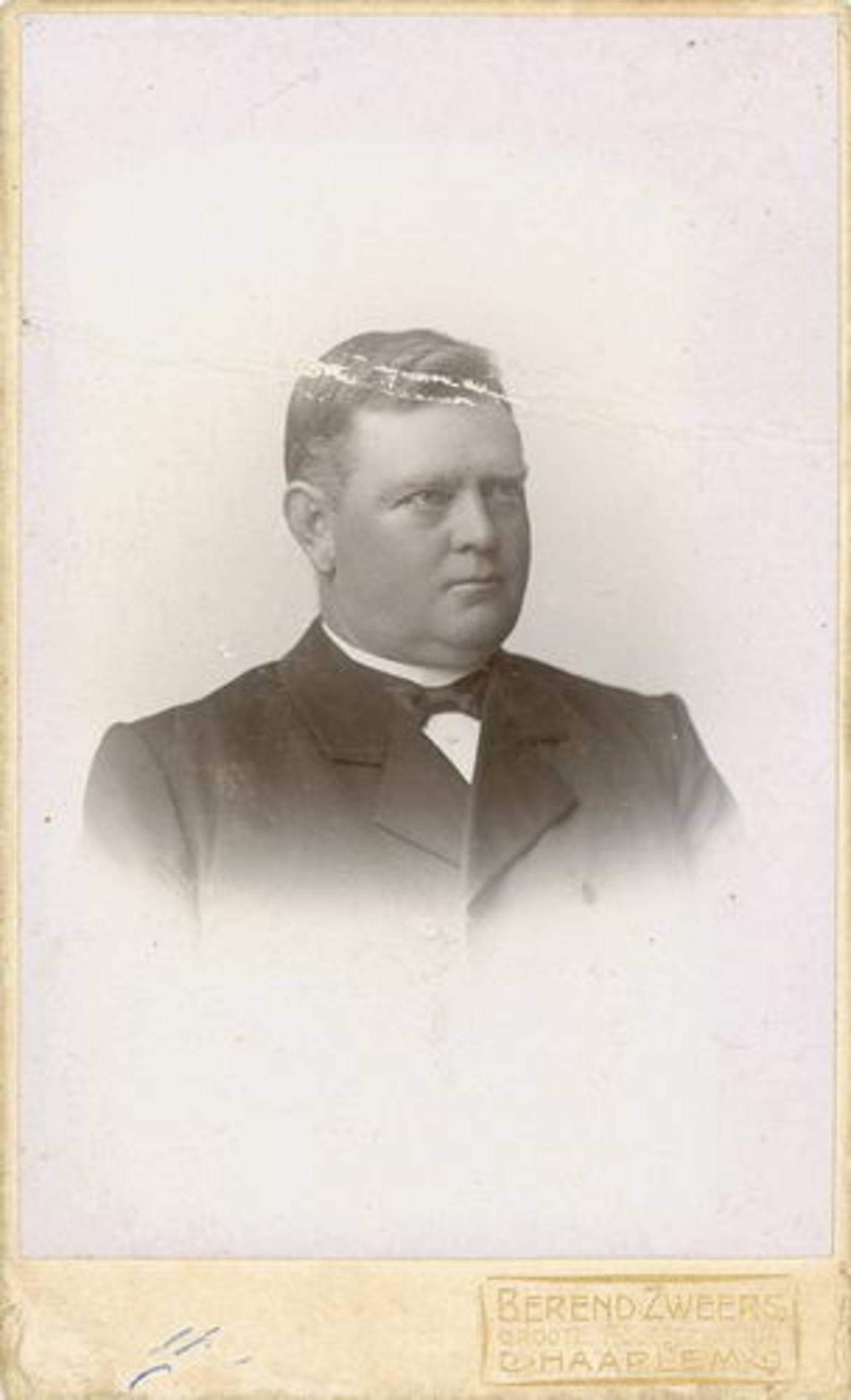 Biesheuvel Willem Bzn 1860 19__ Portret