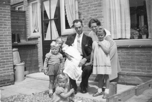 Blanken Gerard Otto 1956 Gezinsfoto