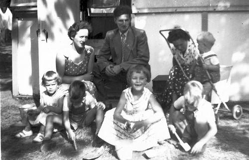 Blanken Gerard Otto 1957 Vakantie in Bakkum 01
