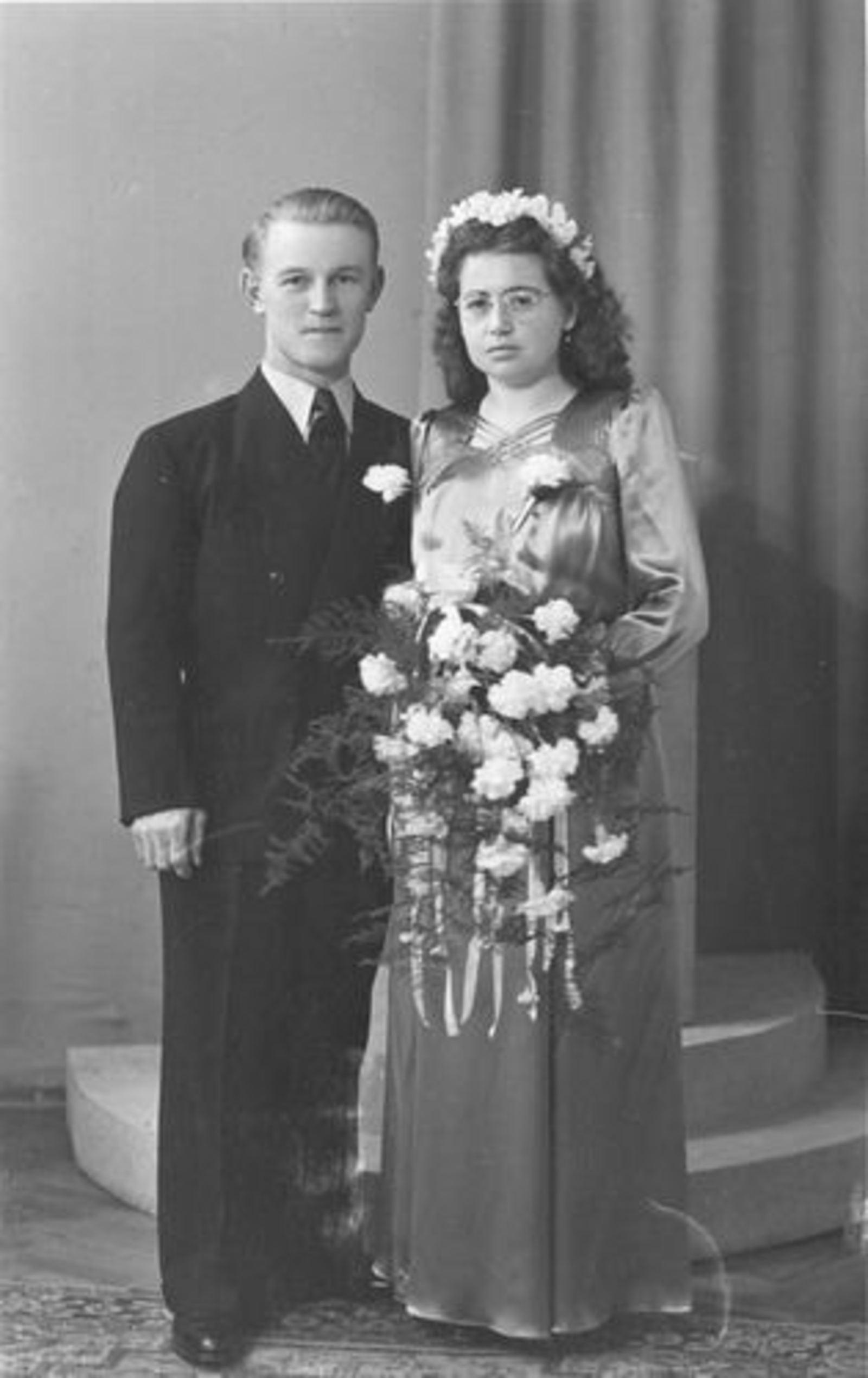 Bliek Gerrit 1917 1949 trouwt Geertje Rozeman