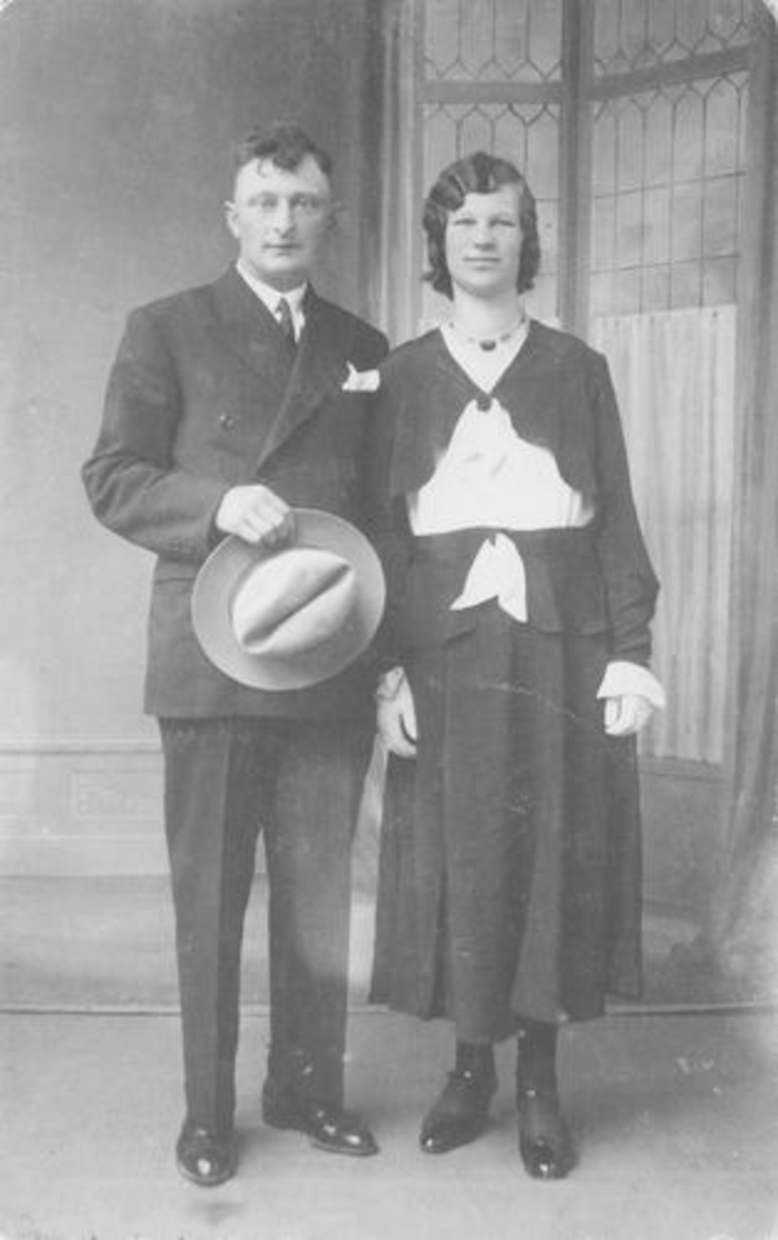 Bliek Jaantje 1912 1932 trouwt Joost van Veen