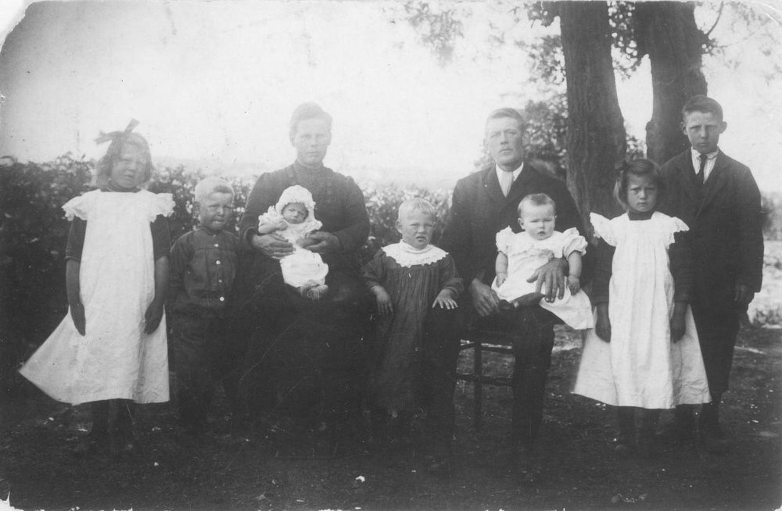 Bliek Jakobus 1883 1920- Familiefoto