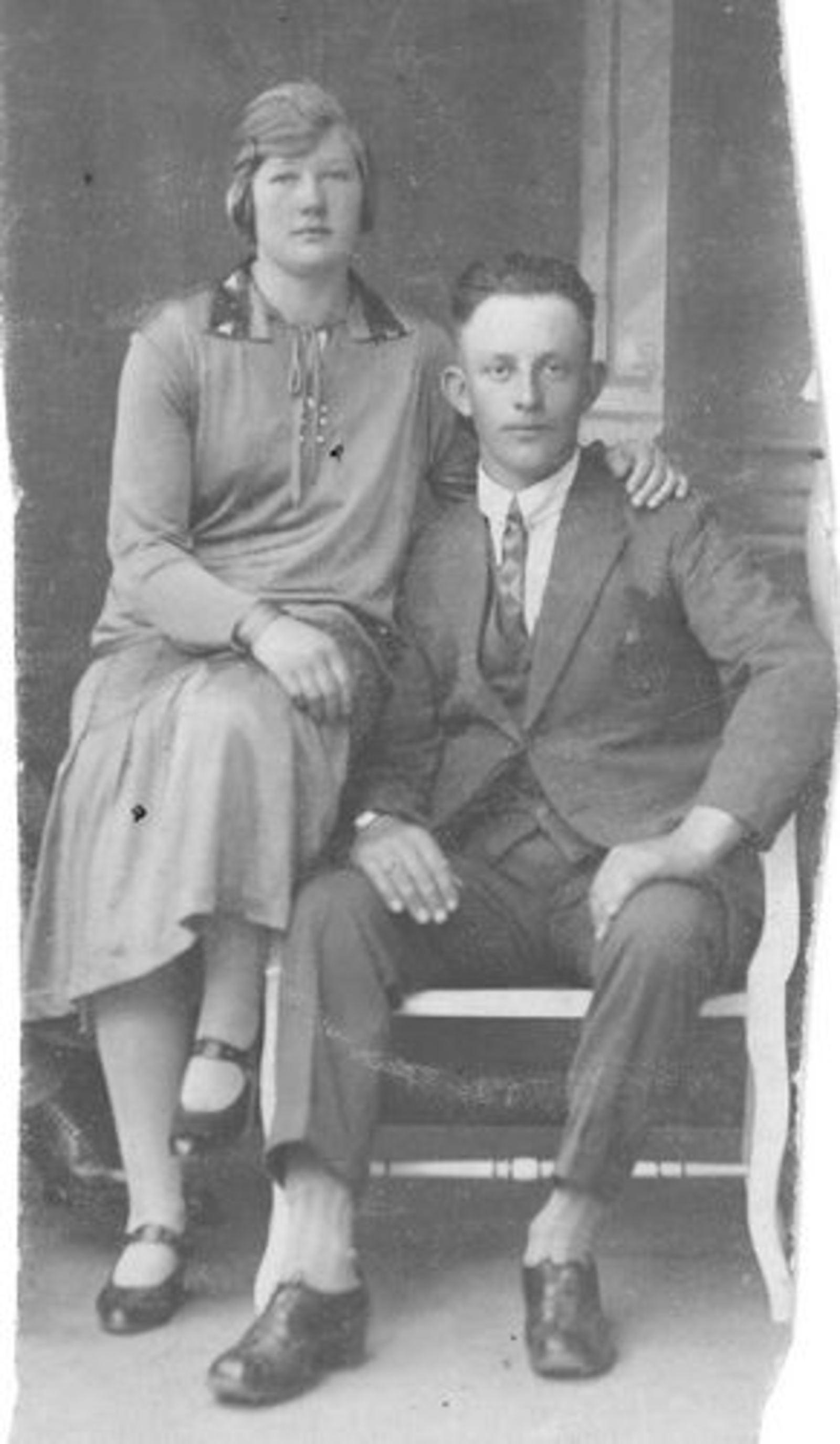 Bliek Riek 1908 192_ met Verkering Jan vd Moren
