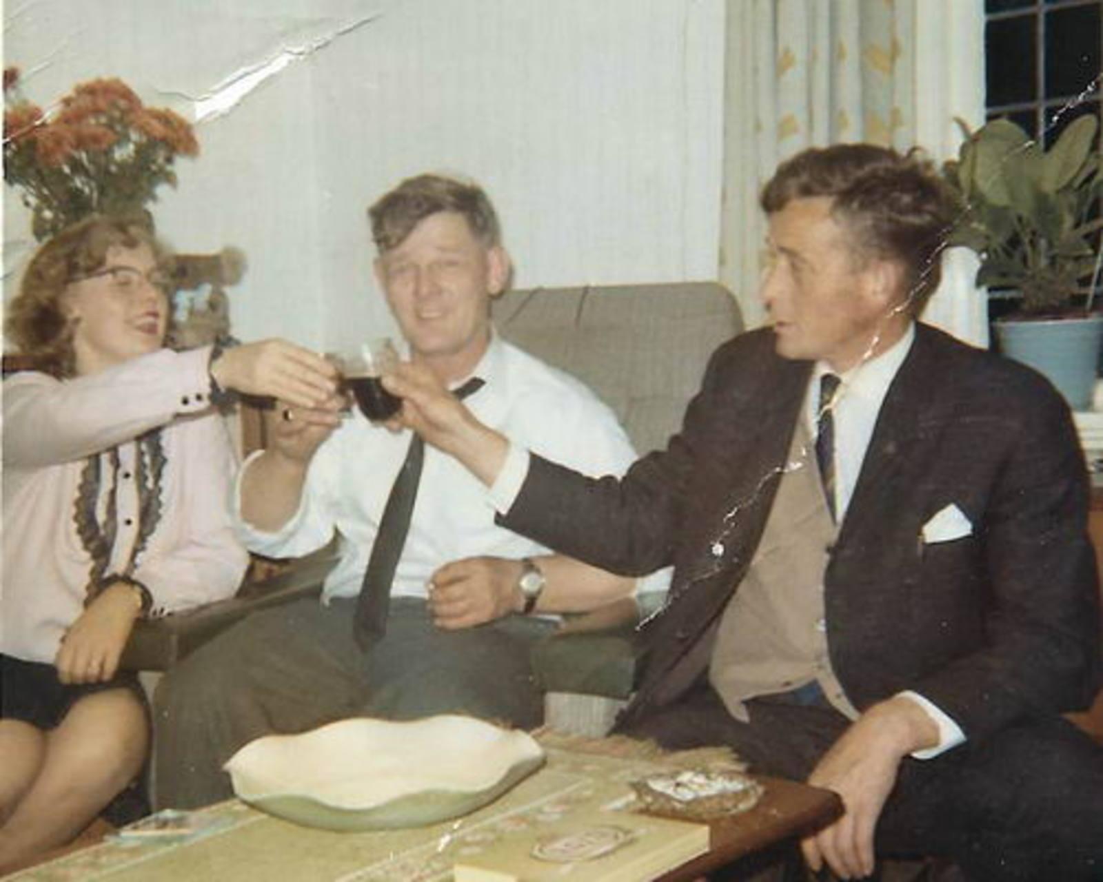 Bliek Toon 1914 1965 met dochter Ria