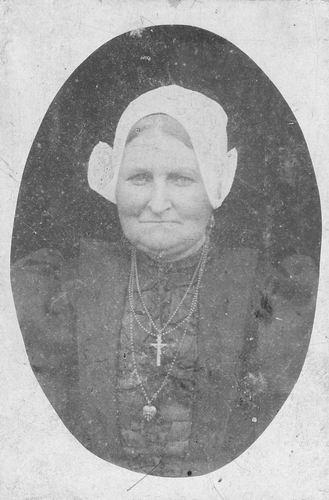 Boerlage-Mesman Maria 1864 19__ Portret