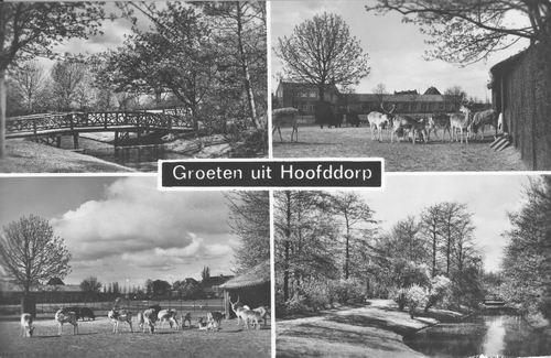 Boslaan Wandelpark 1965 4-luik