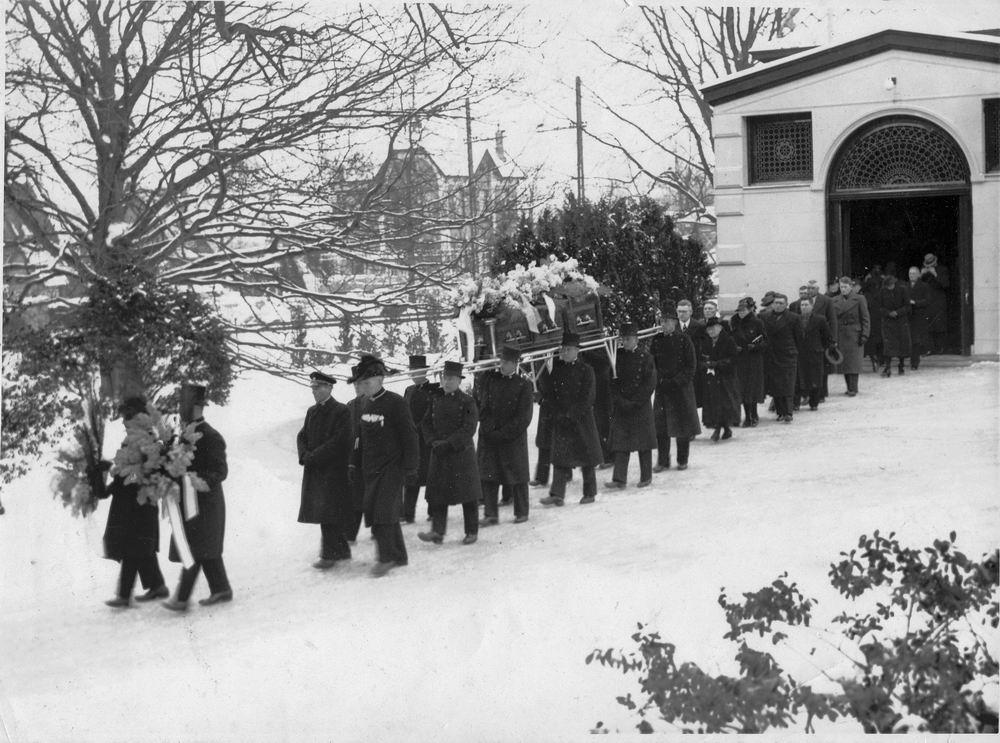 Bosman Cornelis 1864 1940 Begrafenis op Westerveld