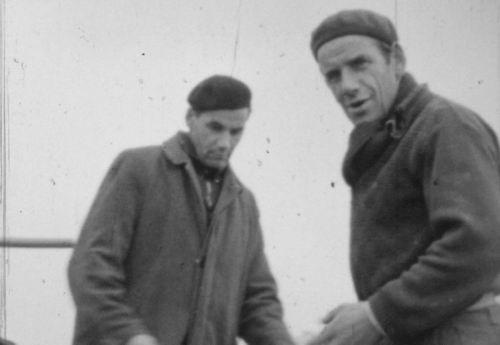 Broek Gebr Leen en Piet 1960-63 bij RVR Loonbedrijf