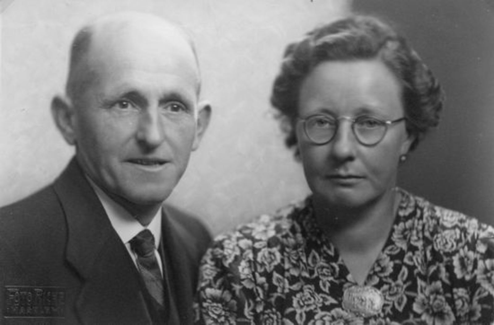 Broere Daniel 1890 19__ met vrouw Jacoba Vlug Jubileum 01a