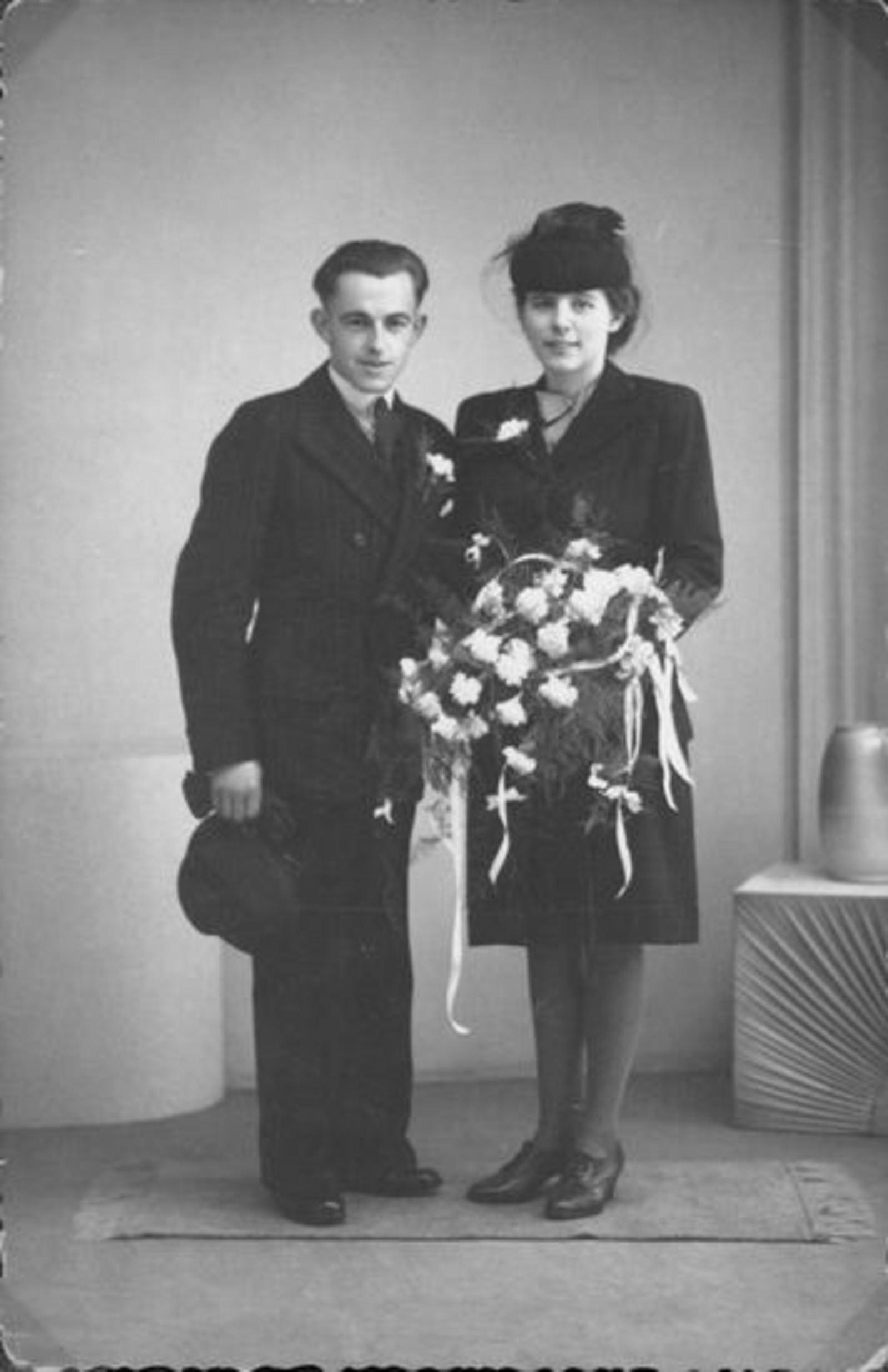 Broere Gerrit 1918 1944 trouwt Gerrij Sluis