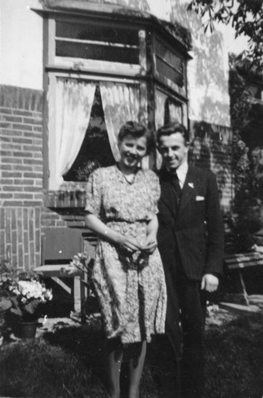 Broere Gerrit 1918 1944 Verloving met Gerrij Sluis