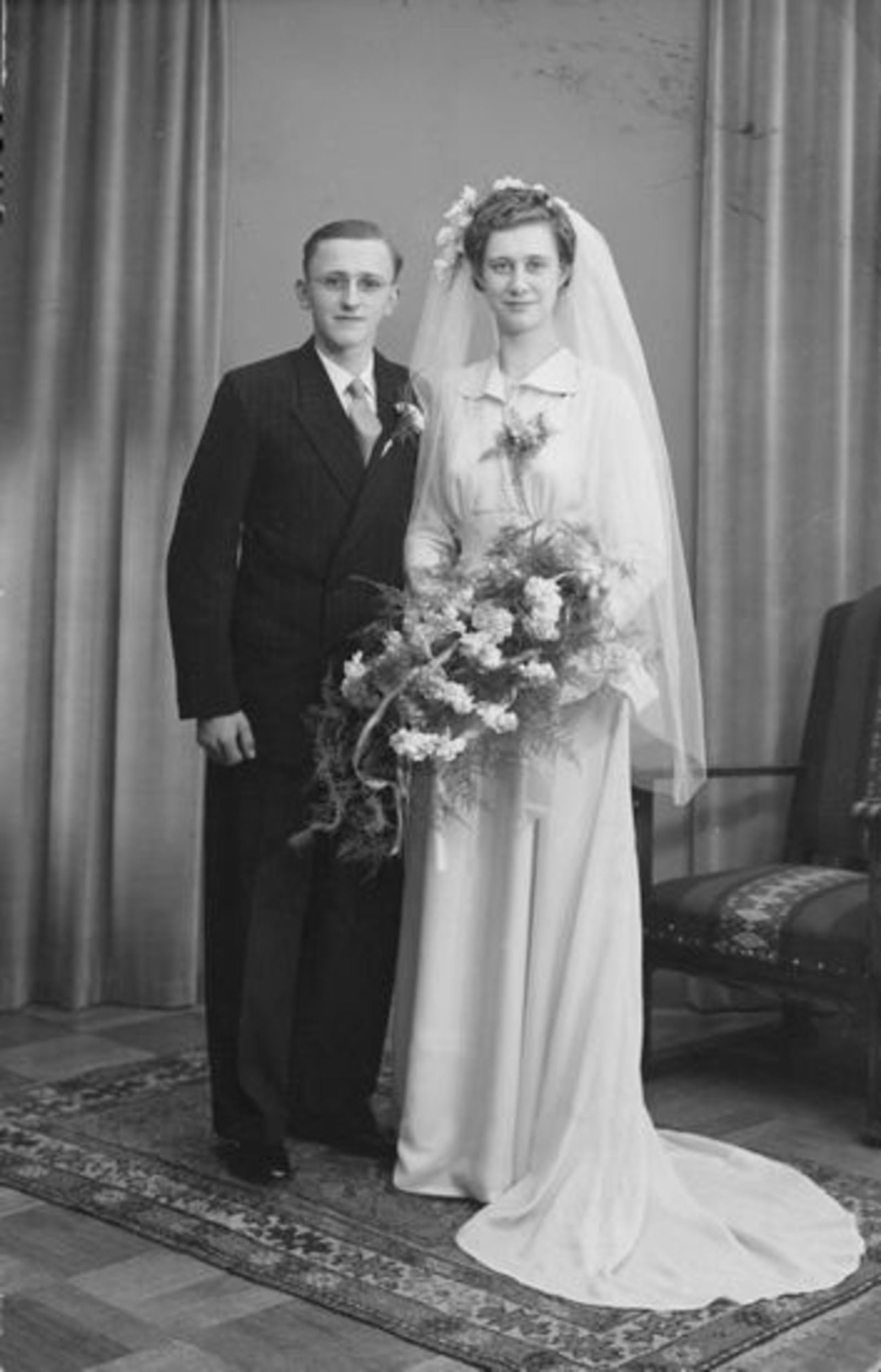 Broere Wim 1929 19__ trouwt met Lenie Lagrouw 01