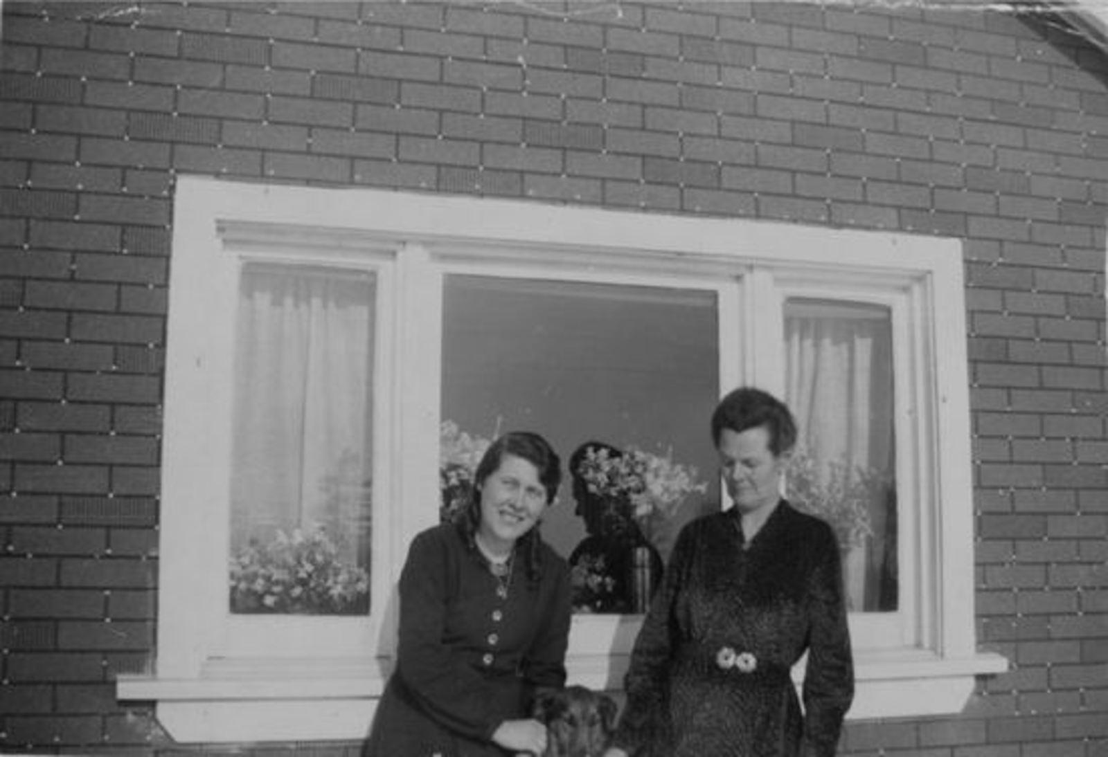 <b>ZOEKPLAATJE:</b>Broersma-v Vuren Bartje 1951 Onbekend 36  Canadeze familie