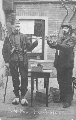 Calvelage Bernard 1885 1912 Toneel Paard op Zolder