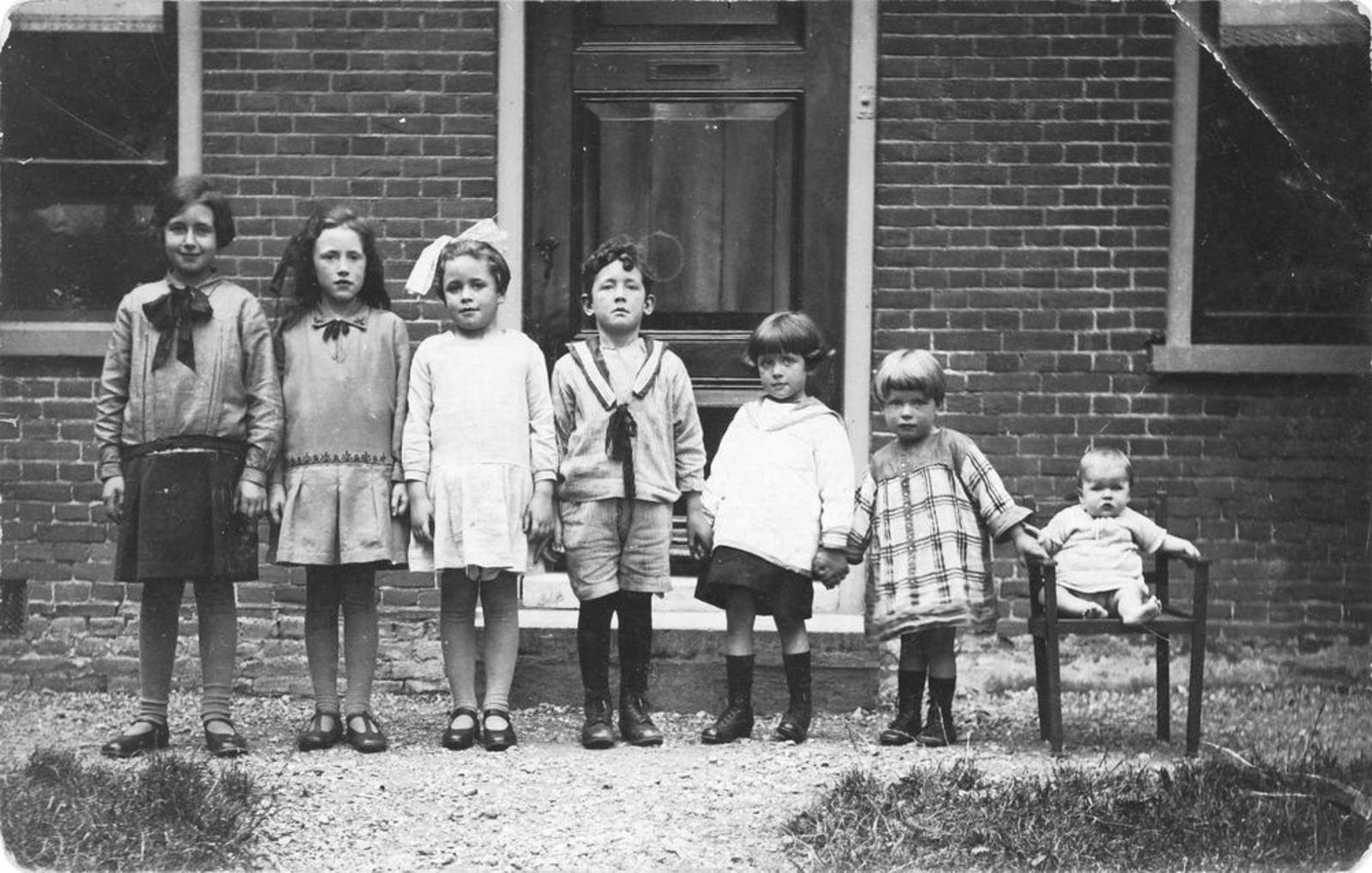 Calvelage Bernard 1885 1930± Kinderen