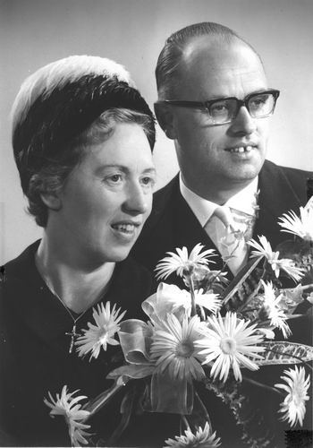 Calvelage Marie 1921 1964 trouwt Wim Lohrmann
