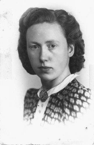 Calvelage Marie 1921 19__ Portret