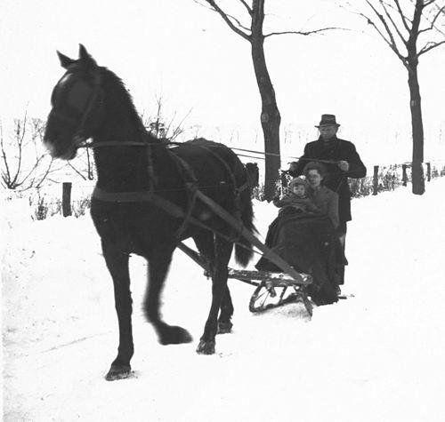 Calvelage Nel 1926 1942 op Arreslee met fam Goudsmit 02