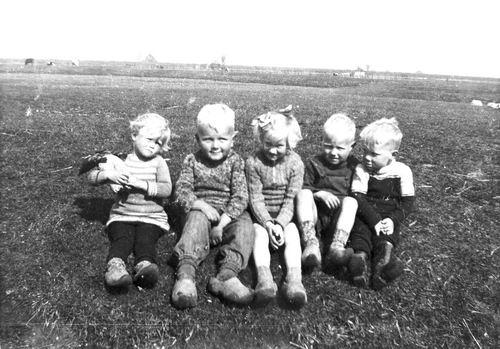 <b>ZOEKPLAATJE:</b>Calvelage Pijpers Onbekend 02 Kinderen in Weiland