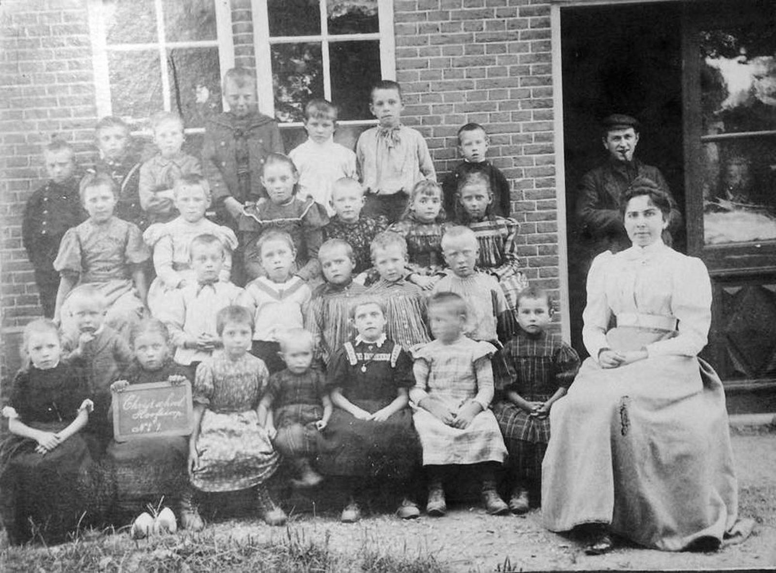 Christelijke School Hoofddorp 1903 klas 1_Exp