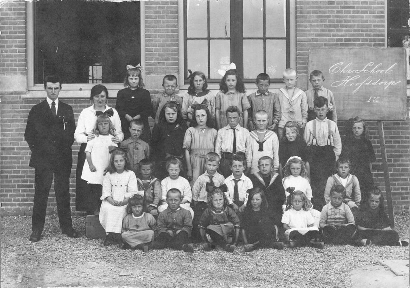 Christelijke School Hoofddorp 1923± Klas 4