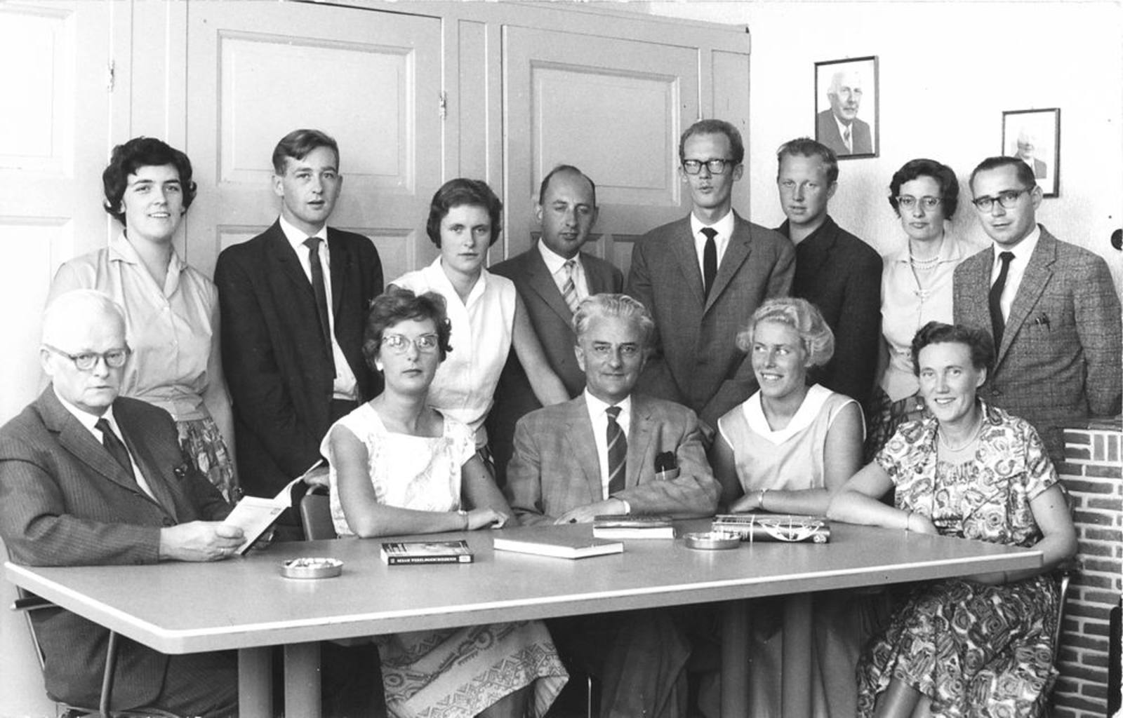 Christelijke School Hoofddorp 1960± Leraren