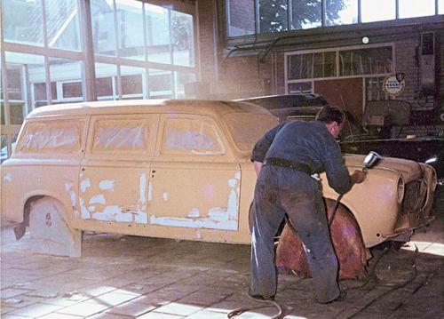 Concourslaan N 0010 1965 Garage Leen de Jong Servicewagen 01