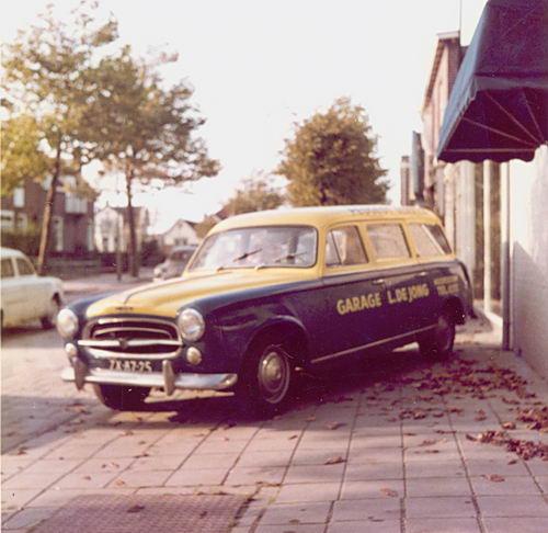 Concourslaan N 0010 1965 Garage Leen de Jong Servicewagen 02