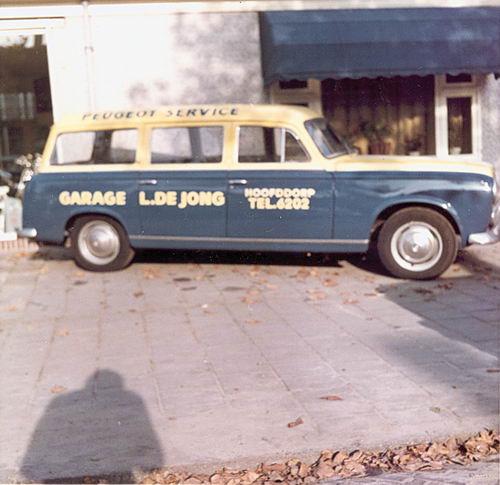Concourslaan N 0010 1965 Garage Leen de Jong Servicewagen 03