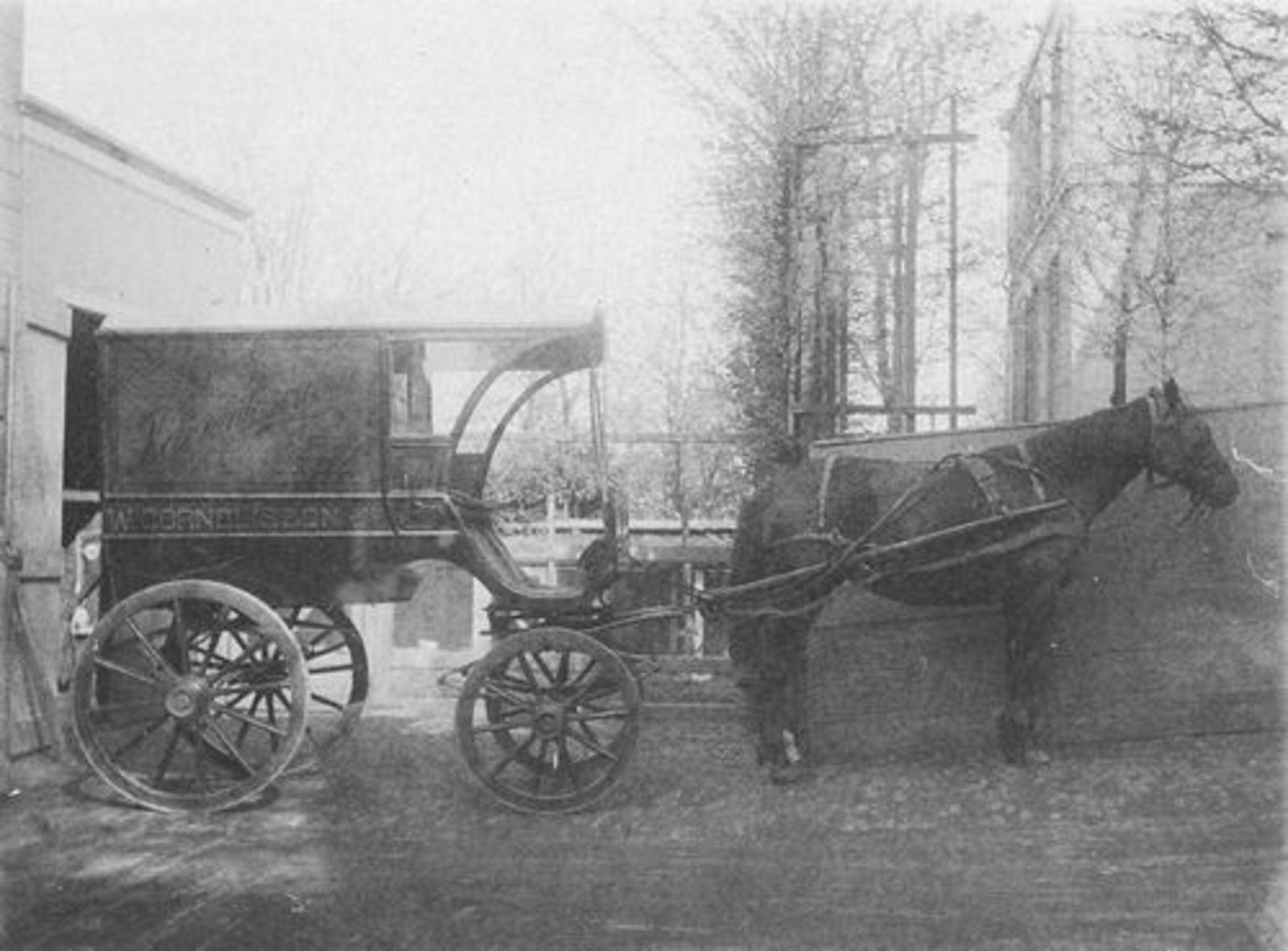 Cornelissen W Jz 19__ Paard en Wagen Kruidenier Koloniale waren en Thee