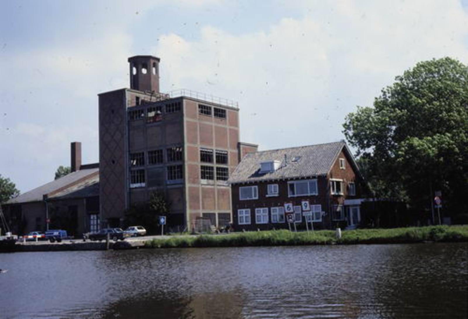 Cruquiusdijk 0039 1995 Graansilo van Wijk