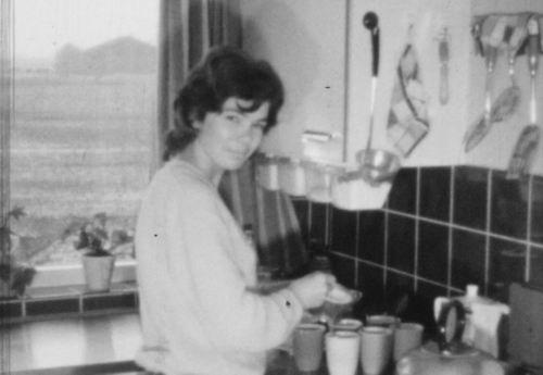 Dam Elly v 1960-63 bij RVR Loonbedrijf