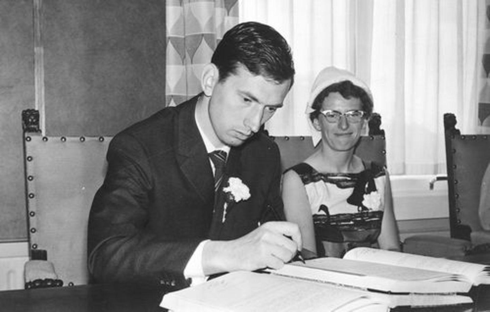 Dam Johanna M 1935 19__ trouwt Jacobus Bonte 04