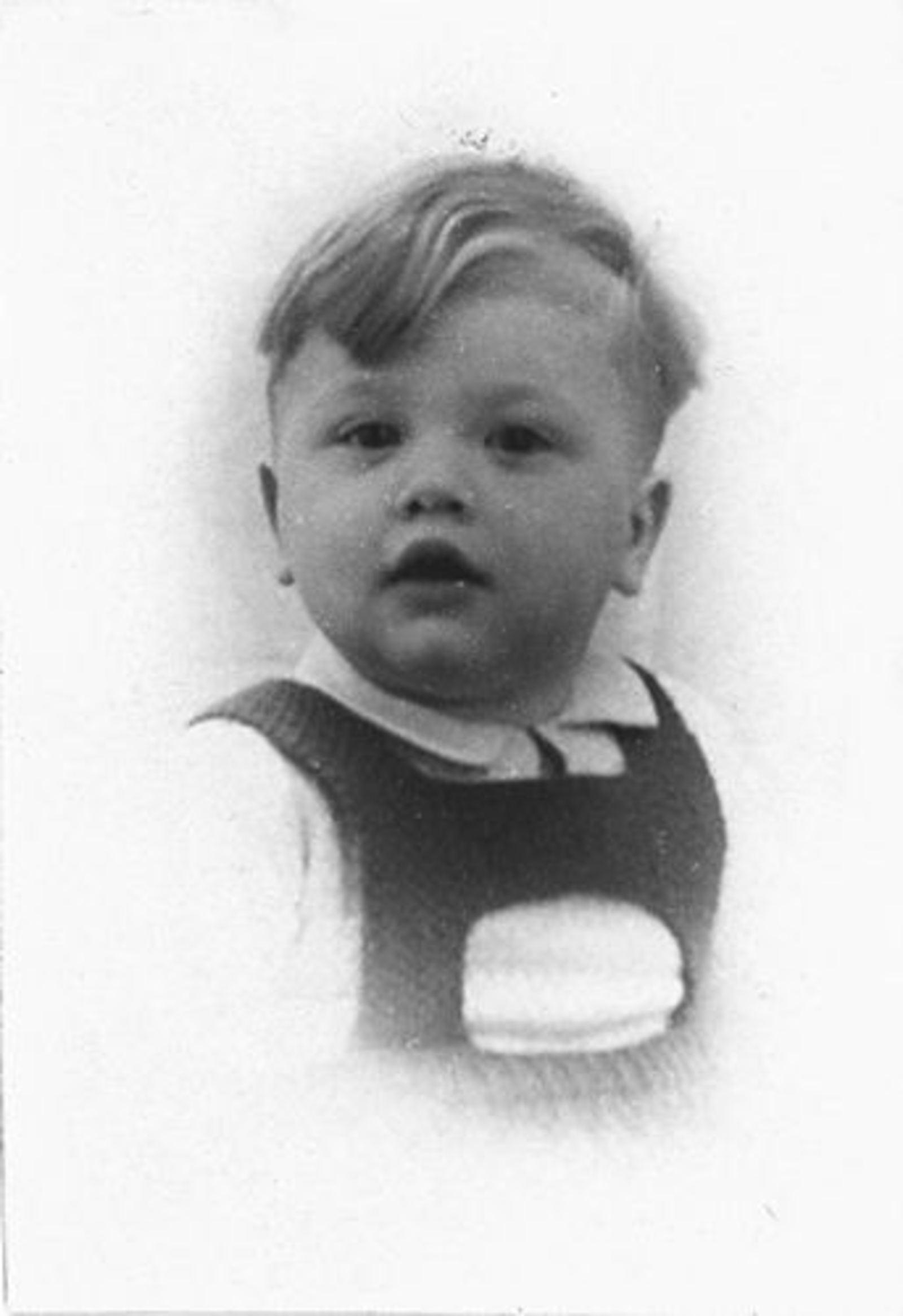 Dam Pieter 1926 19__ Zoon Wim Portret
