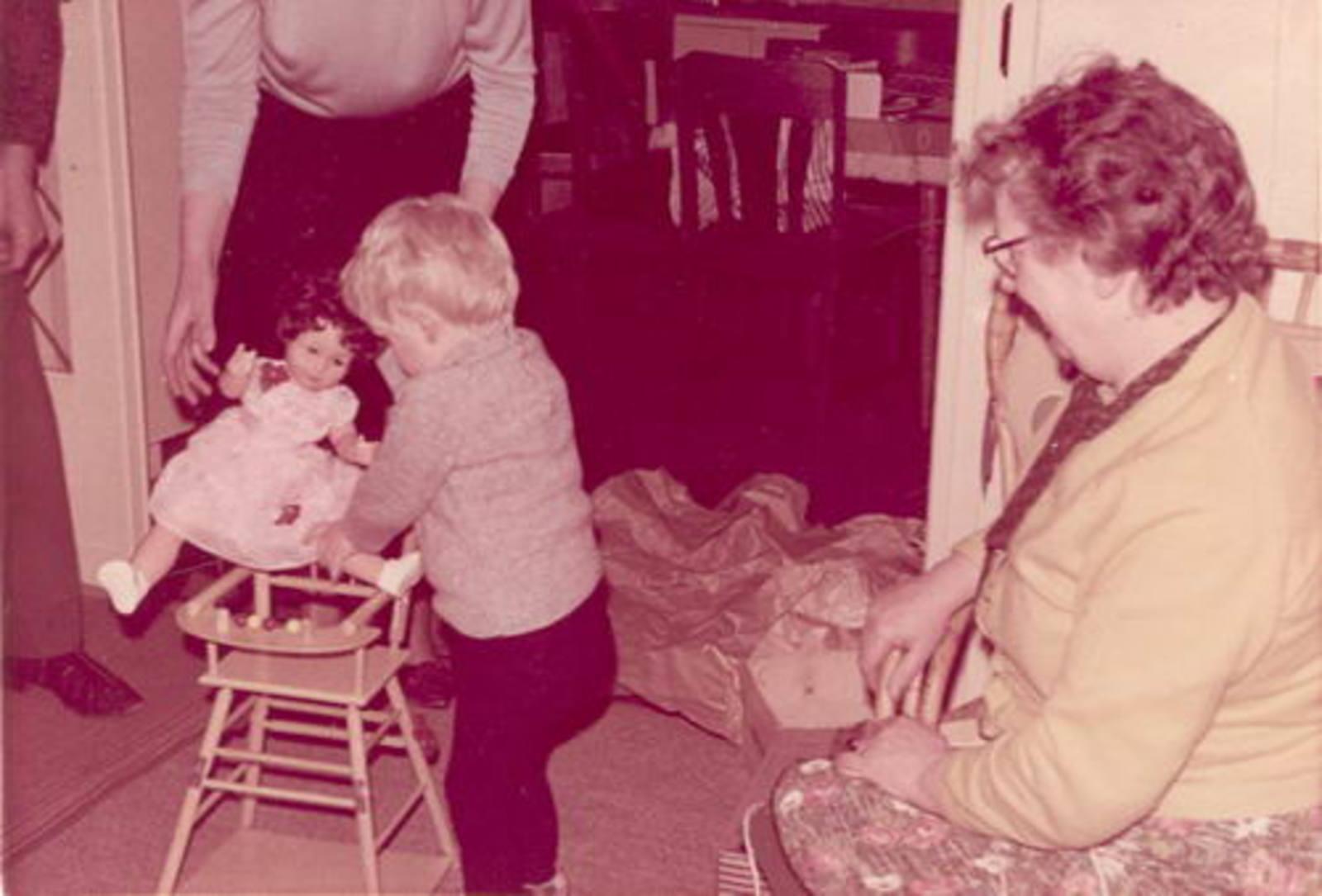 Dam-Stroomer Geertje 1901 1966± Sinterklaas met Familie 01