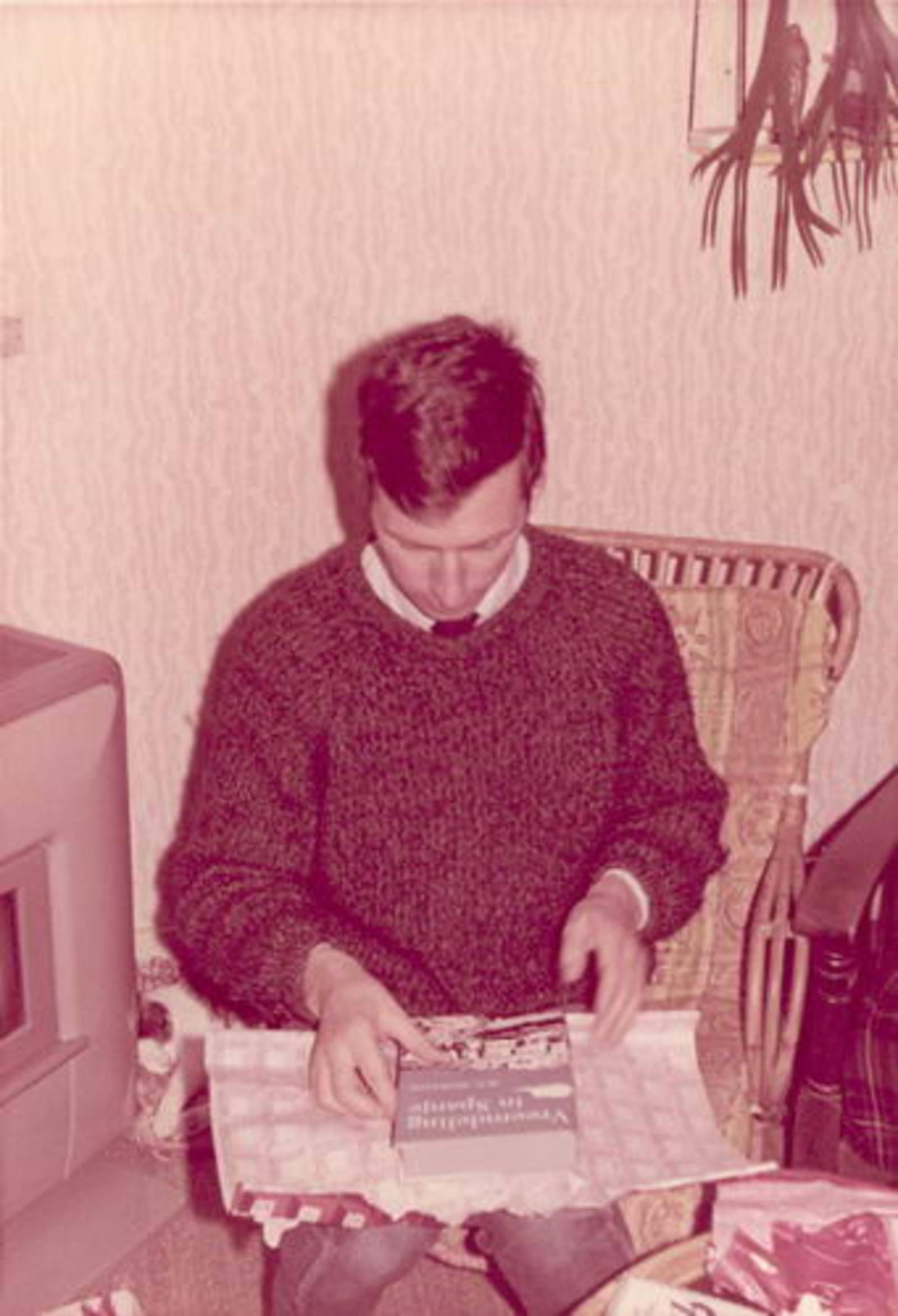 Dam-Stroomer Geertje 1901 1966± Sinterklaas met Familie 04