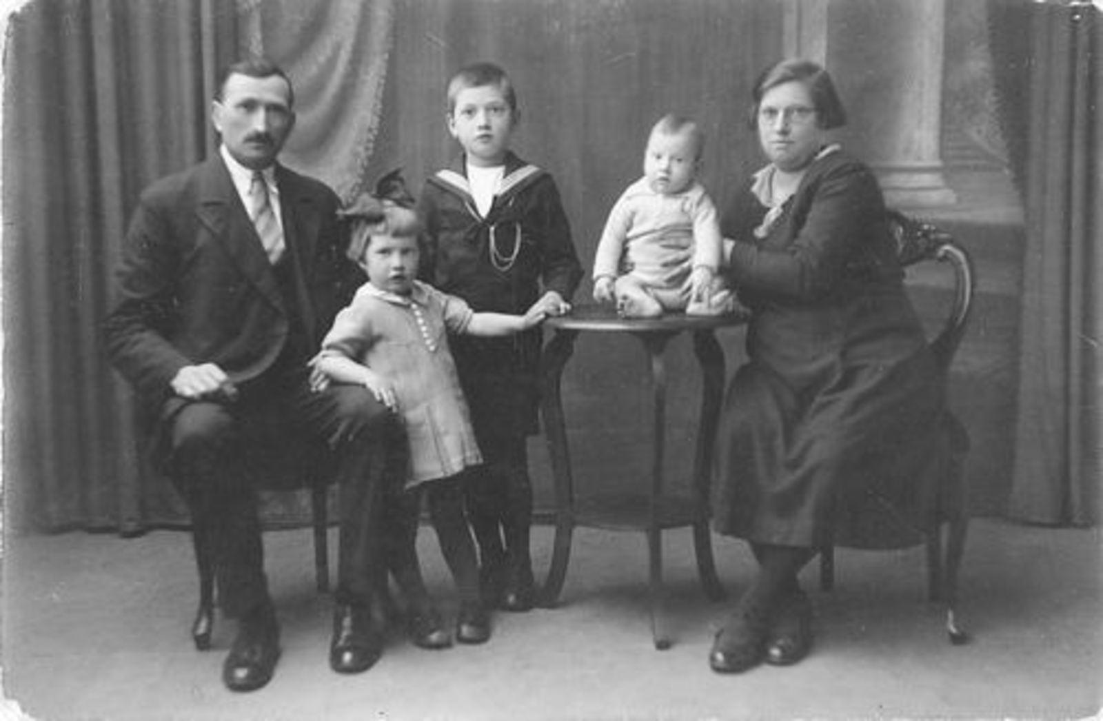 Dam Willem 1890 1933± Gezinsfoto