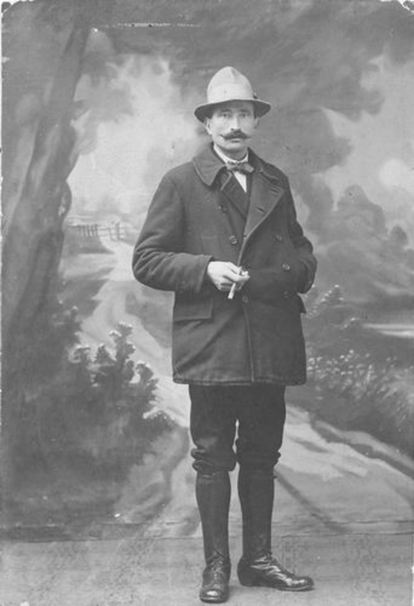 Dam Willem 1890 19__ bij Fotograaf