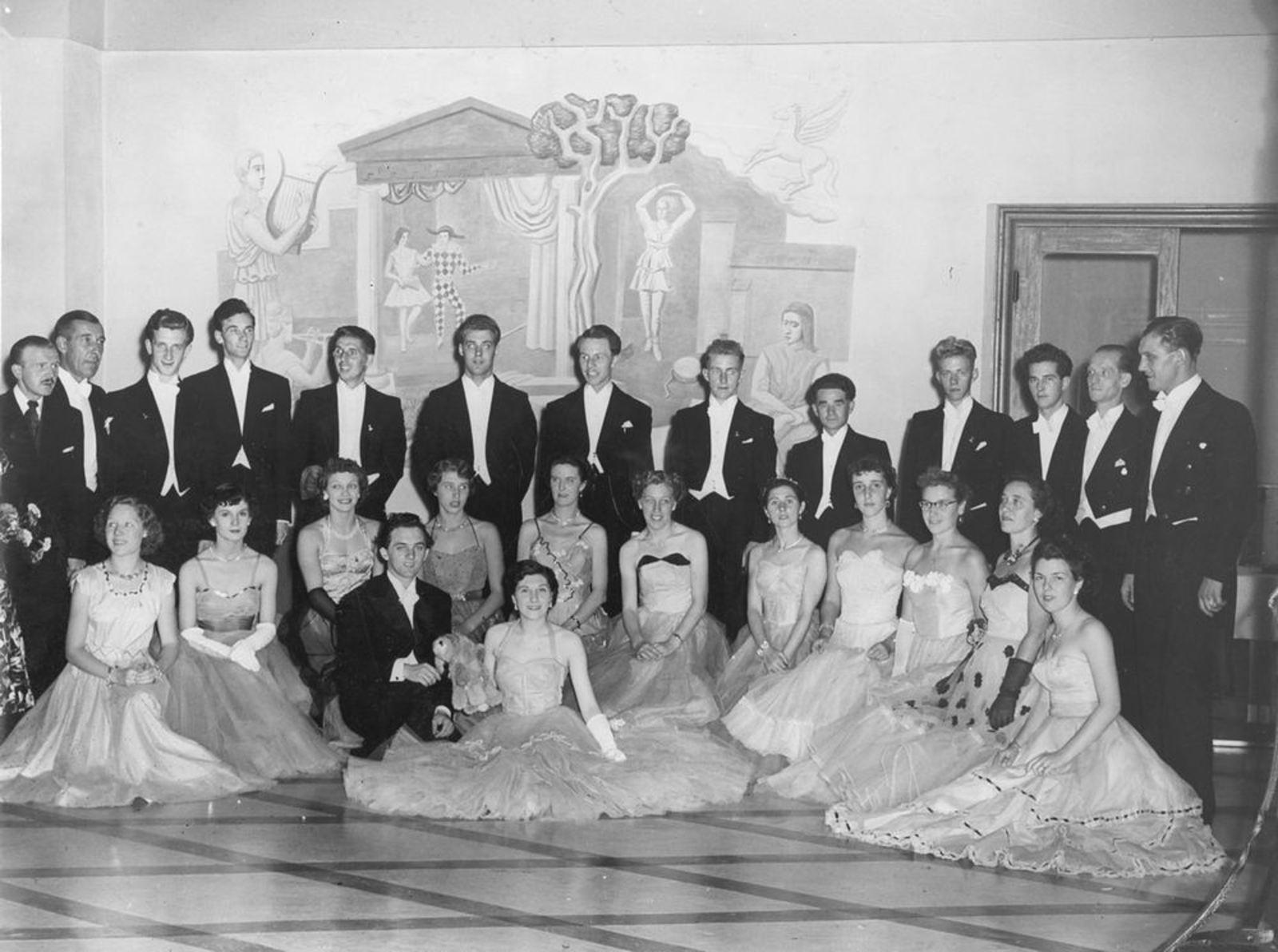Dansschool Rien Knol 1953 Kampioenschappen v Nederland 03