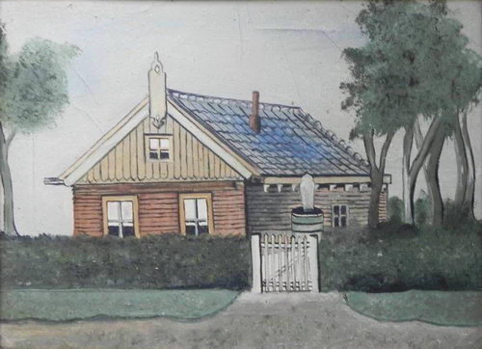 Dennenlaan W 0065 19__ Schilderij Huize Karstens 01