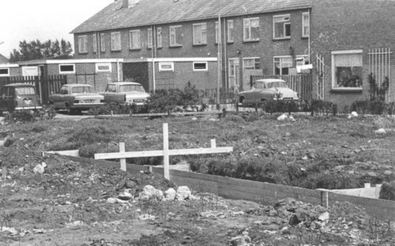 Dorserstraat 0000 1970± tijdens bouw Zichtweg